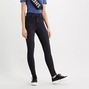 Mile High Rise Black Skinny Jean